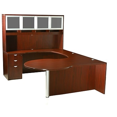 Red Barrel Studio Aleen 5 Piece U-Shape Desk Office Suite