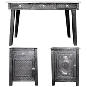 Bloomsbury Market Ona Wooden Console Table and Desk Set