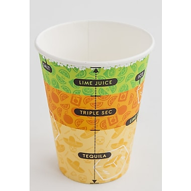 suck UK Cocktail Paper Cup (Set of 24)