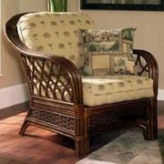 Boca Rattan Coco Cay Leather Armchair; 962