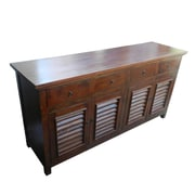Darby Home Co Diannah Wooden 4 Door Buffet Table
