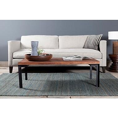 Brayden Studio Youmans Textured Contemporary Dark Gray Area Rug; 7'9'' x 10'6''