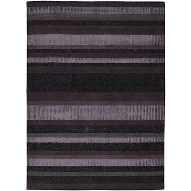 Brayden Studio Youngquist Purple Area Rug; 5' x 7'6''