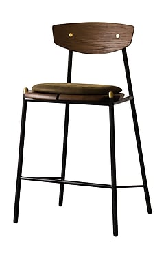 Corrigan Studio Aldo Bar Stool; Jin Green