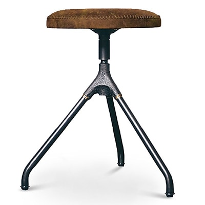 17 Stories Dhrub 18.8'' Bar Stool; Umber Tan