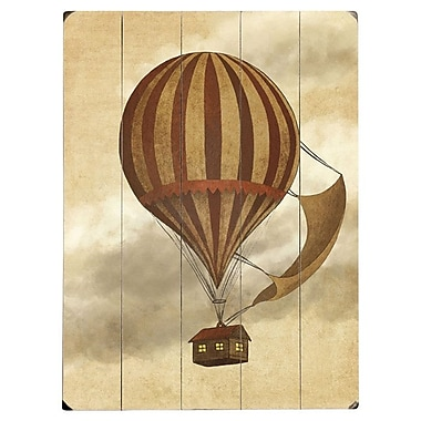 Artehouse LLC 'Departure' Watercolor Painting Print on Wood; 34'' H x 25'' W