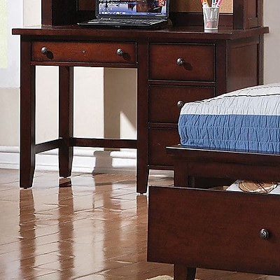 Alcott Hill Blackwell Writing Desk; Cherry