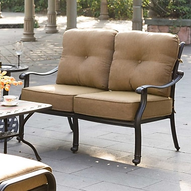 Darby Home Co Carlitos Deep Seating Loveseat