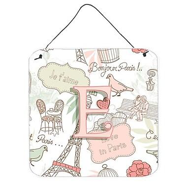 Zoomie Kids 'Love in Paris' Graphic Art Plaque; E