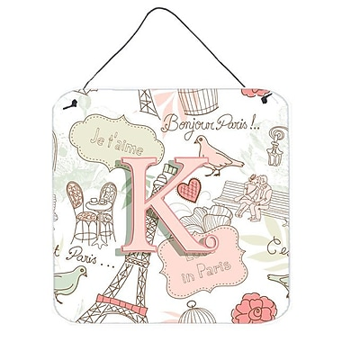 Zoomie Kids 'Love in Paris' Graphic Art Plaque; K