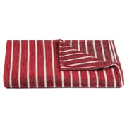 Breakwater Bay Wooster Handcrafted Throw; Red/White