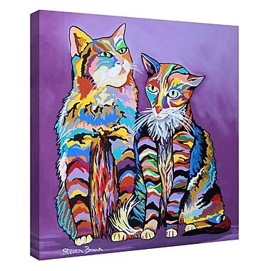 Latitude Run 'Bert & Morag McCheety' Graphic Art Print on Canvas; 24'' H x 20'' W x 1.25'' D