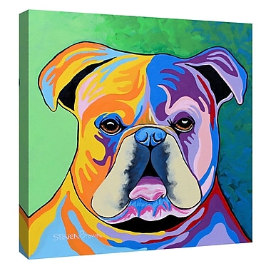 Latitude Run 'Davy McDug' Graphic Art Print on Canvas; 18'' H x 18'' W x 0.75'' D