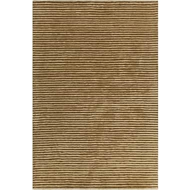 17 Stories Nathen Textured Solid Green Area Rug; 7'9'' x 10'6''
