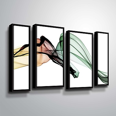 Orren Ellis 'The Invisible World - Movement 14' Framed Graphic Art Print Multi-Piece Image