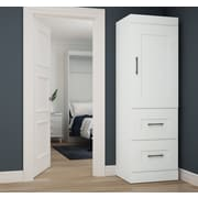 Latitude Run St. Mark''s Place Storage 25'' W Closet System; White