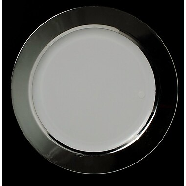 Chef Handler Opulent Super Elegant Plastic Dinner Plate (Set of 50)