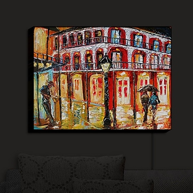 Red Barrel Studio 'New Orleans French Quarter' Print on Wood