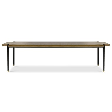 Corrigan Studio Eliot Stacking Wood Bench; Hard Fumed Oak