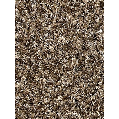 Latitude Run Steiger Brown/Tan Area Rug; Runner 2'6'' x 7'6''