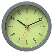 Latitude Run Snedeker 6'' Modern Wall Clock; Cyber Chartreuse