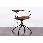 17 Stories Dhrub Desk Chair; Storm Black