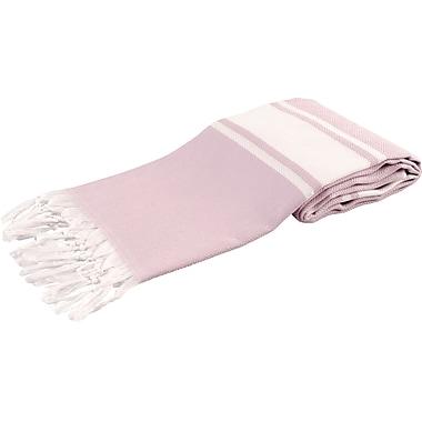 Ivy Bronx Luxury Turkish Beach Towel; Lilac