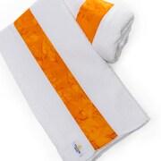 Ivy Bronx Waffle Beach Towel; Orange