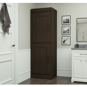 Latitude Run St. Mark''s Place Storage 25'' W Freestanding Closet System; Dark Chocolate