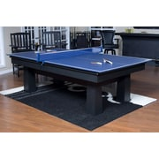 American Heritage Drop Shot Ping Pong Conversion Top Table Tennis; Blue