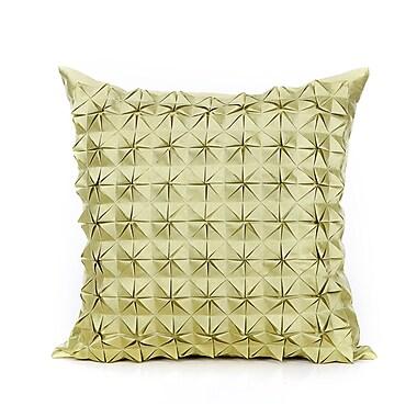 Ivy Bronx Birney Throw Pillow; Lime
