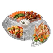 Symple Stuff Appetizer Plastic Serving Tray