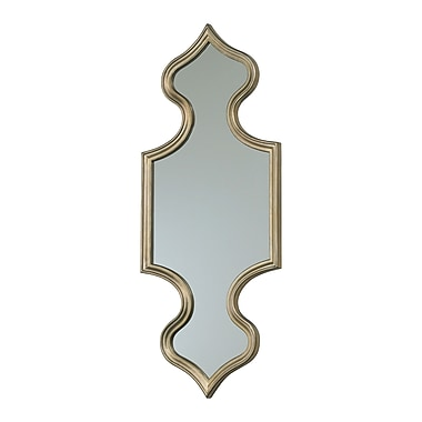 World Menagerie Hagerman 16'' Bronze Wall Mirror
