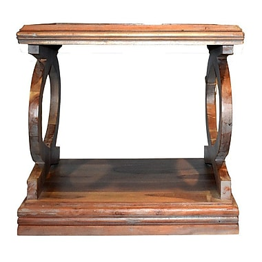 Loon Peak Lataif Wood End Table