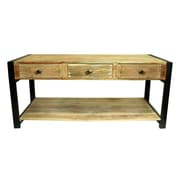 Loon Peak Nickell Wooden Console Table