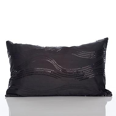 Mercer41 Topher Lumbar Pillow; Black