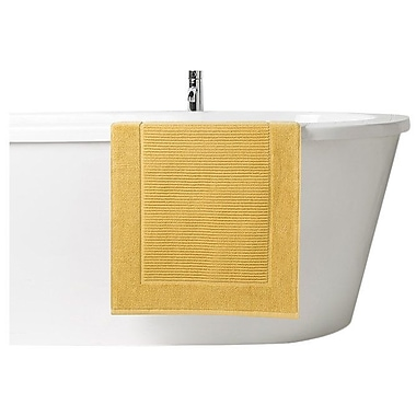 Latitude Run Snapp Hygro Bath Mat; Honey