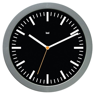 Latitude Run Snedeker 6'' Modern Wall Clock; Railroad Black