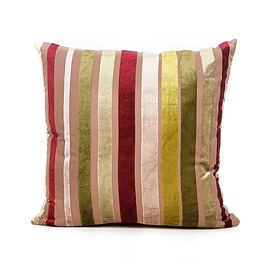 Ivy Bronx Cordlandt Throw Pillow; Green