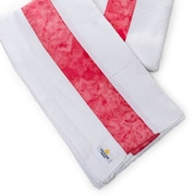 Ivy Bronx Waffle Beach Towel; Pink