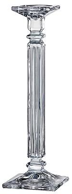 Red Vanilla Eminence Glass Candlestick; 16.22'' H x 5'' W x 5'' D
