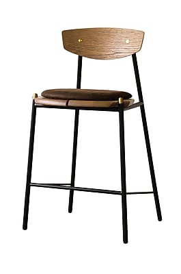Corrigan Studio Aldo Bar Stool; Umber Tan