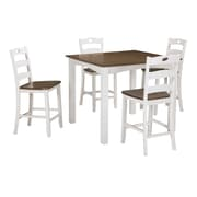 August Grove Mccormick 5 Piece Counter Height Dining Set
