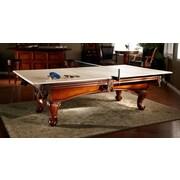 American Heritage Drop Shot Ping Pong Conversion Top Table Tennis; Tan
