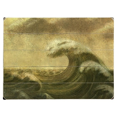 Artehouse LLC 'The Wave' Graphic Art Print on Canvas; 30'' H x 40'' W