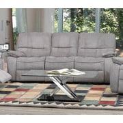 Brassex Edmonton Reclining Sofa; Gray