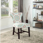 Winston Porter Lostant Floral Living Room Parsons Chair