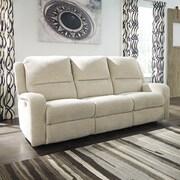 17 Stories Armatou Reclining Sofa; Sand