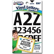 Artskills Letters and Numbers, Black, 250/Pack (PA-1349)