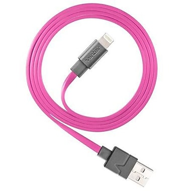 Ventev Charge/Sync Cable Lightning 3.3ft, Pink (512063)